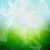 Abstract polygonal summer time low poly bright Royalty Free Stock Photos
