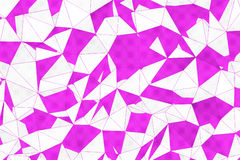 Abstract Polygonal Surface Royalty Free Stock Photos