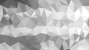 Abstract Polygonal Texture in Gray Background vector illustration