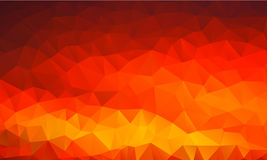 Abstract polygonal triangular background, vector vector illustration