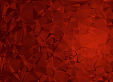 Abstract polygonal vector background Royalty Free Stock Photography
