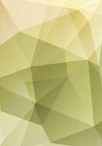 Abstract polygonal vector geometric design Royalty Free Stock Image