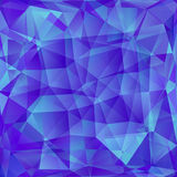 Abstract polygone background Royalty Free Stock Photos
