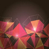 Abstract Polygons Royalty Free Stock Photography