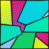 Abstract pop-art background vector illustration