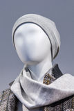 Abstract portrait of a mannequin in the mall Royalty Free Stock Images