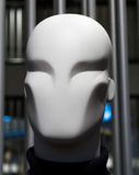 Abstract portrait of a mannequin in the mall Royalty Free Stock Image