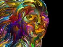 Abstract portret vector illustratie