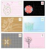 Abstract postcard Royalty Free Stock Photos
