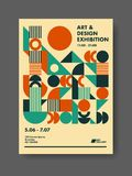 Abstract Poster Design Template vector illustration