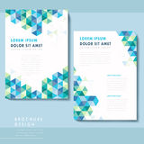 Abstract poster template design Royalty Free Stock Photography