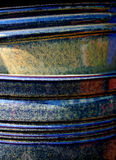 Abstract pottery. Close up of crockery Royalty Free Stock Image