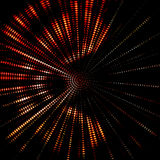 Abstract powerful light object Stock Photos