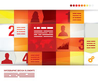 Abstract presentation template Stock Photos