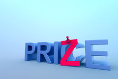Abstract price and prize concept. Royalty Free Stock Photography