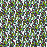 Abstract print in op art style Stock Images