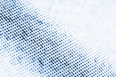 Abstract Printed Dots. Printed macro dots with tilt shift fading Stock Photos