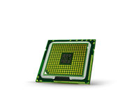 Abstract processor 1. Abstract processor on white background Stock Images