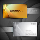 Abstract professional and designer business card Royalty Free Stock Photography