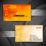 Abstract professional and designer business card Stock Photo