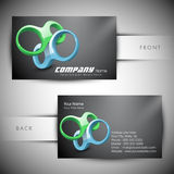 Abstract professional and designer business card Royalty Free Stock Image