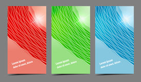 Abstract professional and designer cards Stock Photo