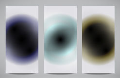 Abstract professional and designer cards Royalty Free Stock Photos
