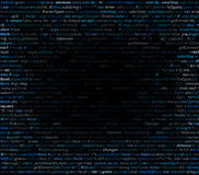Abstract program code Stock Photo