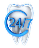 Abstract protect tooth Stock Images