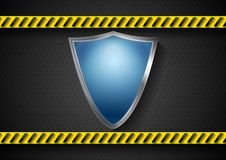 Abstract protection vector design Stock Photography