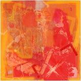abstract przecinającej tło pomarańcze Fotografia Stock