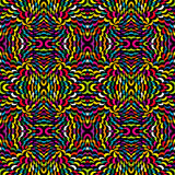 Abstract psychedelic background. Abstract psychedelic colored  background, optical effect Stock Photography