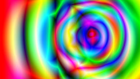 Abstract psychedelic multicolored background. Digital backdrop. 3d rendering Royalty Free Stock Image