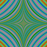 Abstract psychedelic quadratic background design Stock Images