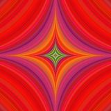 Abstract psychedelic quadratic background design Stock Image