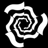 Abstract Psychedelisch Art Background Vector Royalty-vrije Stock Afbeeldingen