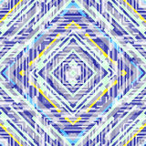 Abstract psychedelisch naadloos patroon Stock Afbeelding