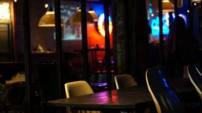 Abstract pub abd bar restuarant for night life Royalty Free Stock Images