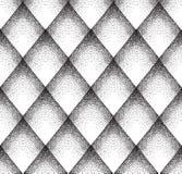 Abstract puntpatroon Bevlekte lineaire siertextuur Geometr Royalty-vrije Stock Fotografie