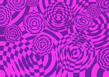 Abstract purper en roze beeld Royalty-vrije Stock Fotografie