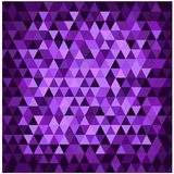 Abstract purper mozaïek Stock Foto