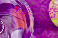Abstract purper ontwerp Royalty-vrije Stock Foto