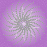 Abstract purple background. With a radial gradient and twisted beams in the center Royalty Free Stock Photo