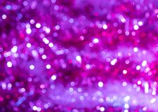 Abstract purple background with bokeh.  royalty free stock images