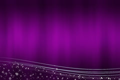 Abstract purple background with the light lines at the bottom Royalty Free Stock Photo