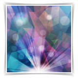 Abstract purple background with light spots Stock Images