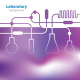Abstract purple background. Abstract purple medical laboratory background Royalty Free Stock Photography