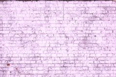 Abstract purple background from old brick wall in retro style royalty free stock photos