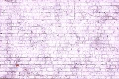 Abstract purple background from old brick wall in retro style stock photos