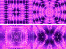Abstract purple background set Royalty Free Stock Photo